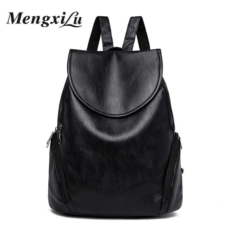 6a2e2777de6a Модные женские туфли рюкзак высокое качество из искусственной кожи рюкзак  для девочек-подростков рюкзак женский