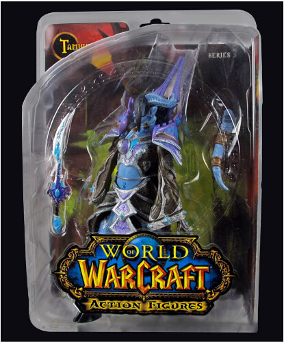 WOW WORLD SERIES 3 DRAENEI MAGE TAMUURA ACTION FIGURES TOY COLLECTION Anime Figure Da Collezione Model Toy 5