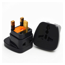 2PCS UK Standard Universal  Socket Plug Conversion Travel Wall AC Power Charger Outlet Adapter EU US AU To