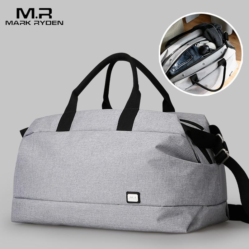 2019 Mark Ryden Men Travel Bag Large Capacity Multifunctional Hand Bag Waterproof Luggage Bag Business Travel