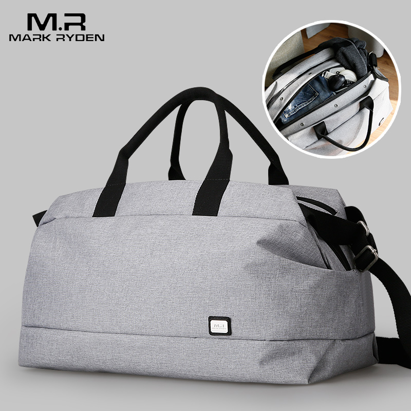 2018 Mark Ryden  Men Travel Bag Large Capacity Multifunctional Hand Bag Waterproof Luggage Bag Business Travel Bags