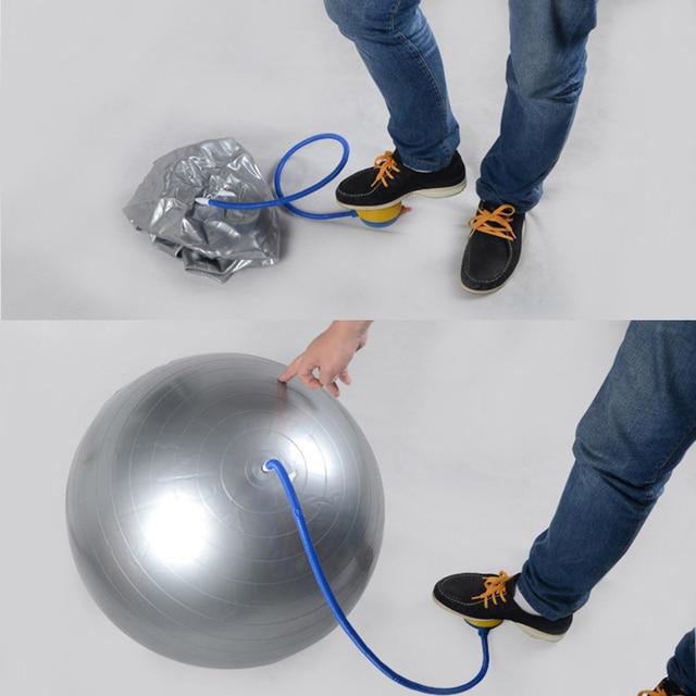 Portable Foot Yoga Pilates Ball Air Pump