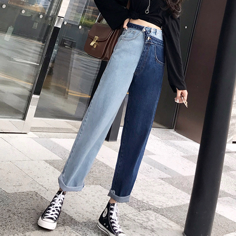 Cheap Wholesale 2018 New Autumn Winter Hot Selling Women's Fashion Casual  Denim Pants G9302Y