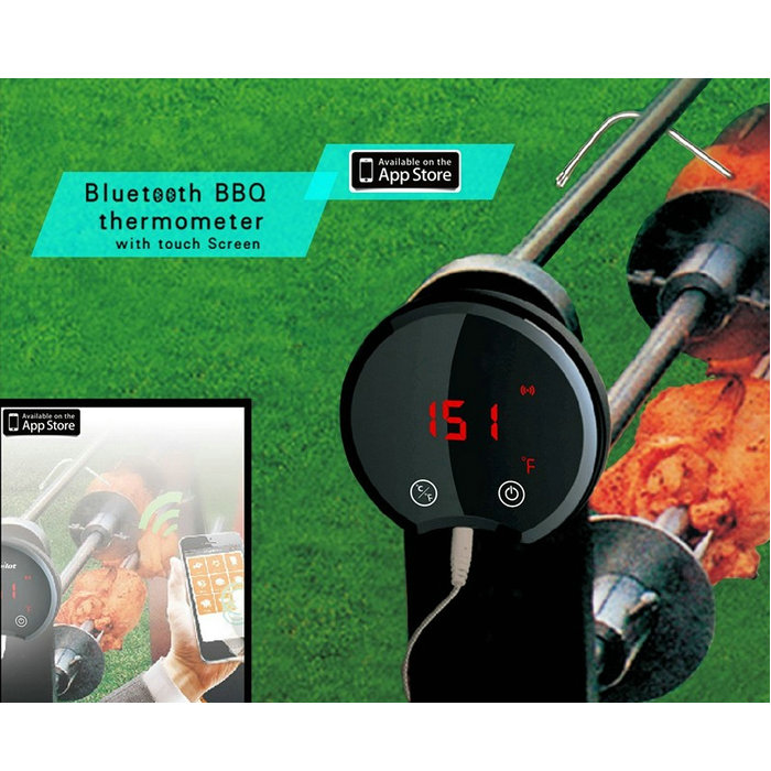 Latest bbq Thermometers, Habor Digital Stainless Cooking Thermometer with Instant Read, Long Probe, LCD Screen, APP control  цены