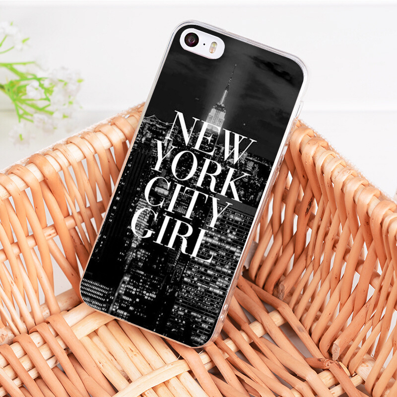 4a115a4f7c NYC NEW YORK City Landscape Soft Tpu Phone Case Cover For Apple ...