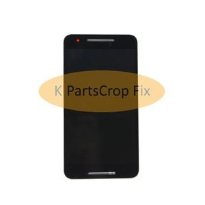 """Image 5 - מקורי שחור עבור 5.7 """"Huawei Google Nexus 6P LCD תצוגת מסך מגע Digitizer עם מסגרת עצרת החלפת נקסוס 6P LCD"""