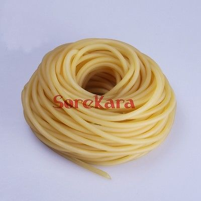 9x12mm 1meter Natural Latex Slingshots Rubber Tube Tubing Elastic Surgical  Lab Use