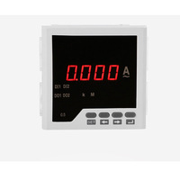 Industry Range 0-5A Current Meter Digital Display Panel Ammeter Current Accurate Testing Monitor Power Current Meter