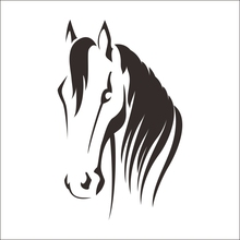 CHM- DCTAL horse Sticker Logo Name horse Decal Posters Vinyl Wall Decals Pegatina Quadro Parede Decor Mural horse Sticker K451