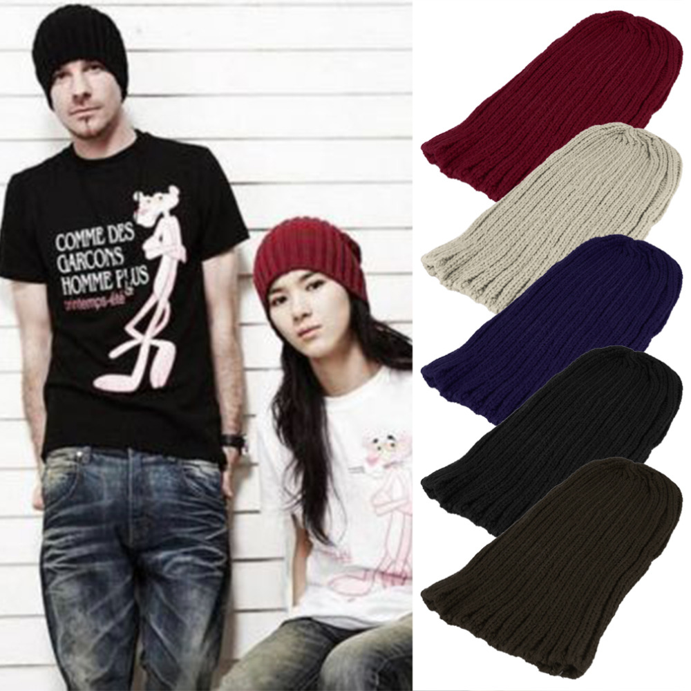 NEW  Unisex Men Women Boy Hip-Hop Warm Winter Wool Knit Beanie Cap Hat new anal dildo realistic dildo with strong suction cup fake penis long butt plug anal plug sex toys for women sex products
