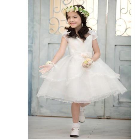 Aliexpress.com : Buy Wholesale Sleeveless Snow White Organza Ball ...