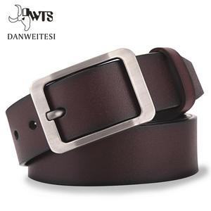 Men's Belt Cummerbunds Strap Pin-Buckle Ceinture Homme Casual Luxury DWTS Male