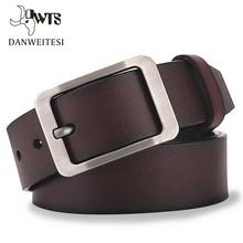 [DWTS]Mens belt leather belt men male genuine leather strap luxury pin buckle casual mens belt Cummerbunds ceinture homme cheap Belts Cowskin Metal 5 5cm 7 5cm 3 72cm Solid Adult men s belts Cummerbunds Cow genuine leather belt belt male belts for men