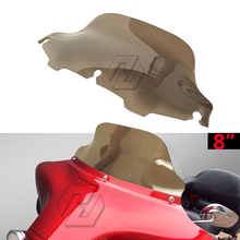 8 Motorcycle Windshield Windscreen Case for Harley Touring Electra Glide 1996-2013