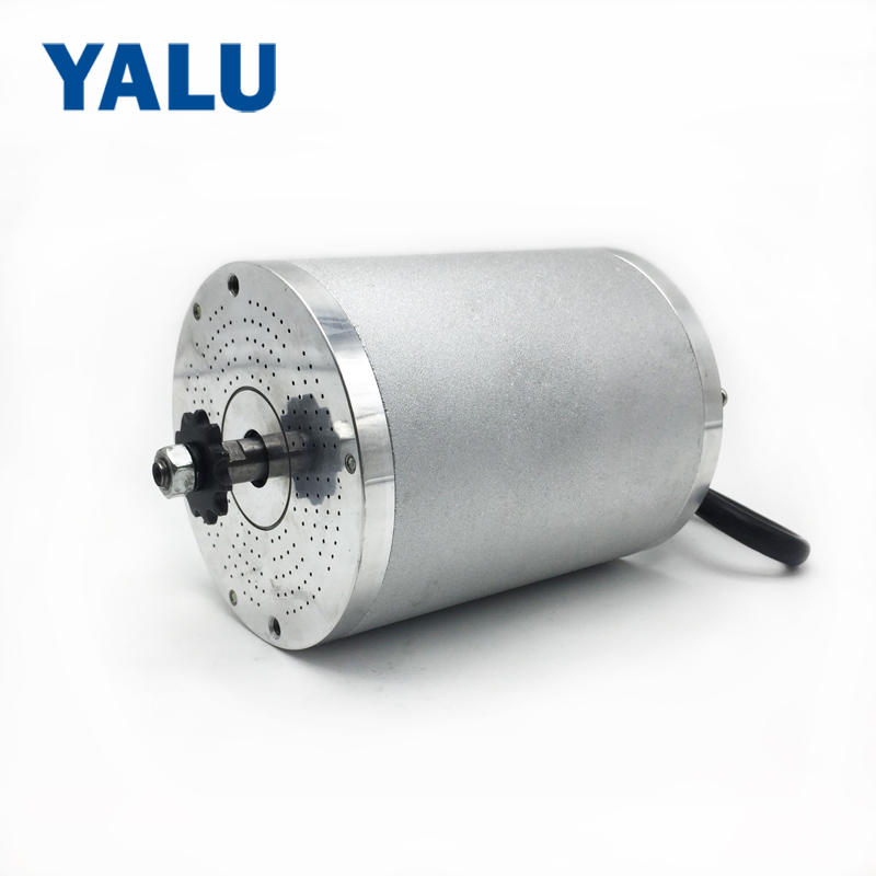 YALU MY1020 upgrade Brushless Motor BM1109 48V 2000W 5500RPM High Speed Electric Scooter E-Bike Electric Bicycle Motorcycle Part