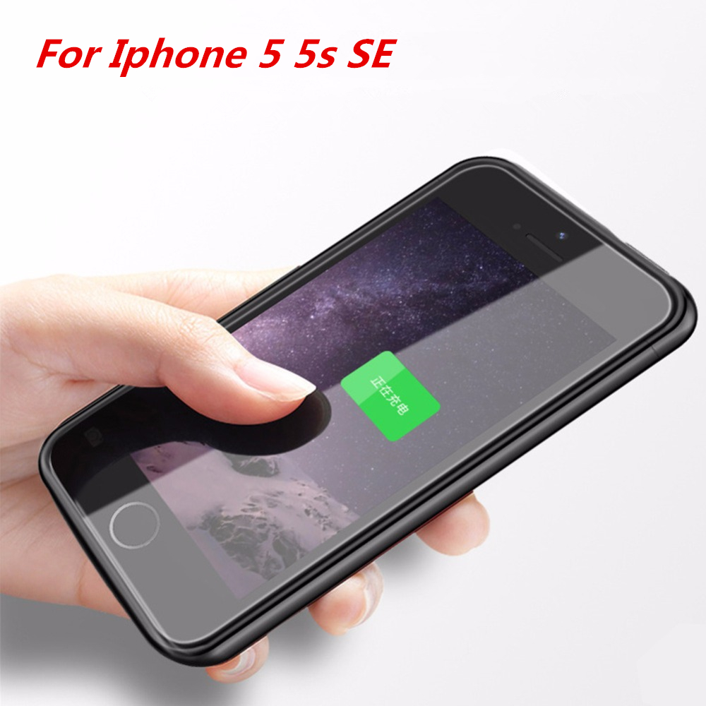 4000 mah For iPhone 5 Power Case Silica gel Ultra-Thin Smart Battery Charger Case Power Bank For Iphone 5 Power Case 5S Se4000 mah For iPhone 5 Power Case Silica gel Ultra-Thin Smart Battery Charger Case Power Bank For Iphone 5 Power Case 5S Se