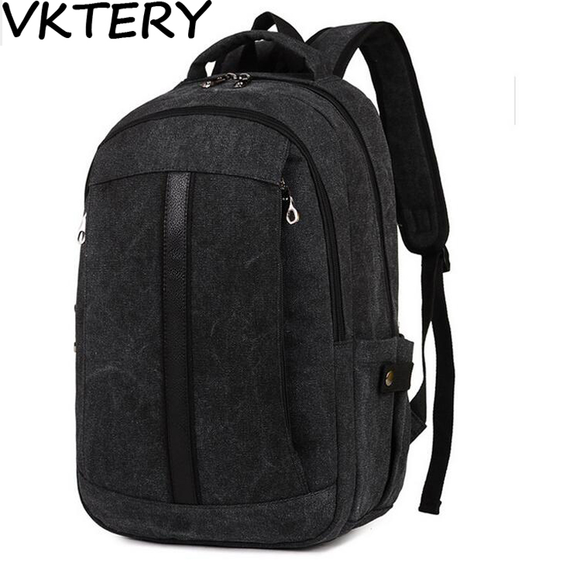 2016 Men Male Canvas Backpack College Student School Backpack Bags for Teenagers Vintage Mochila Casual Rucksack Travel Daypack tuguan brand fashion mesh pocket men backpacks school college student backpack bags for teenagers casual laptop daypack backbag