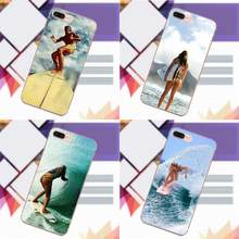 Printing Drawing TPU For Sony Xperia Z Z1 Z2 Z3 Z4 Z5 compact Mini Premium M2 M4 M5 T3 E3 E5 XA Unique Billabong Surfboards(China)