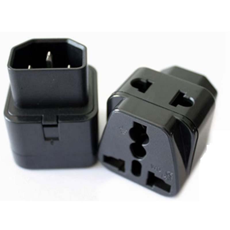 iec 320 c14 male to c13 female power adapter pdu ups adapter c13 rh aliexpress com Travel Power Adapter Type 1 International Travel Adapter