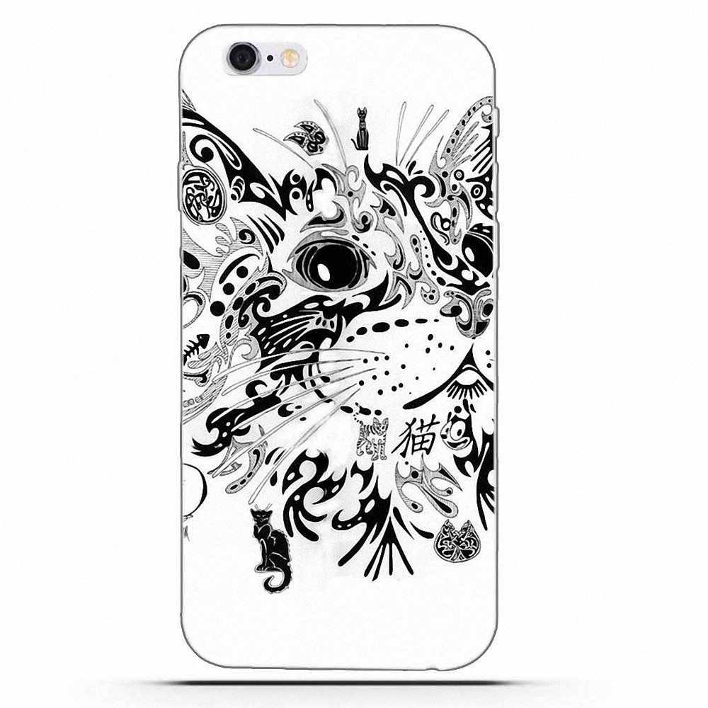 Wexoeq แมวตุรกี Eye Mandala TPU นุ่มสำหรับ LG G2 G3 mini spirit G4 G5 G6 k4 K7 K8 K10 2017 V10 V20 V30
