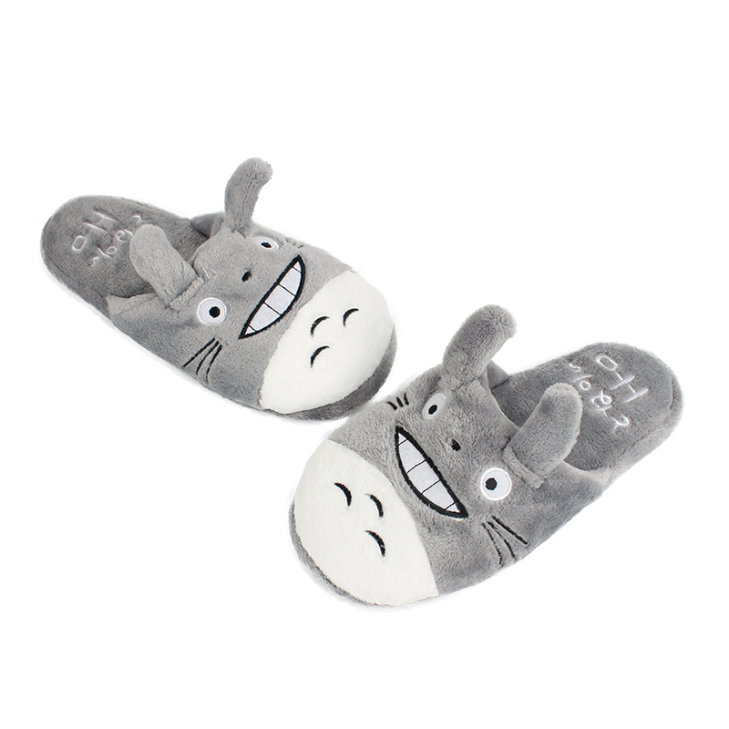 Mens Cat Slippers Totoro