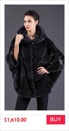 REAL MINK FUR COAT WINTER WOMEN COAT (8)