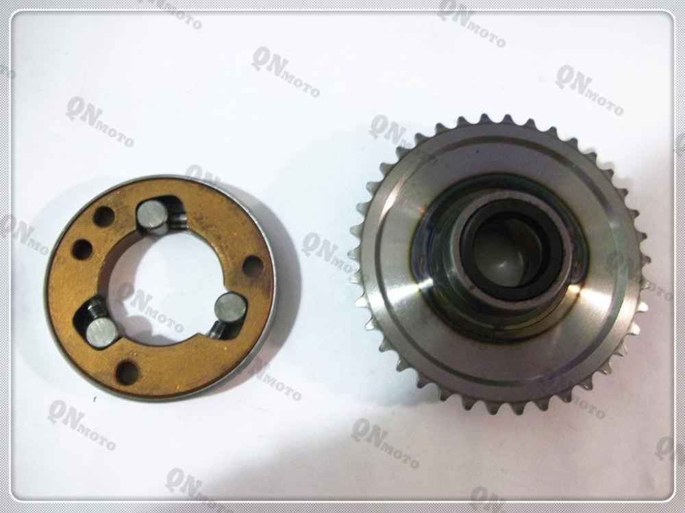 ФОТО Hot Sales Motorcycle Starter Clutch Assembly Kit For H O N D A CD250 1988-1989 CA125 Rebel 1995-1999 CB125T 1988-1990