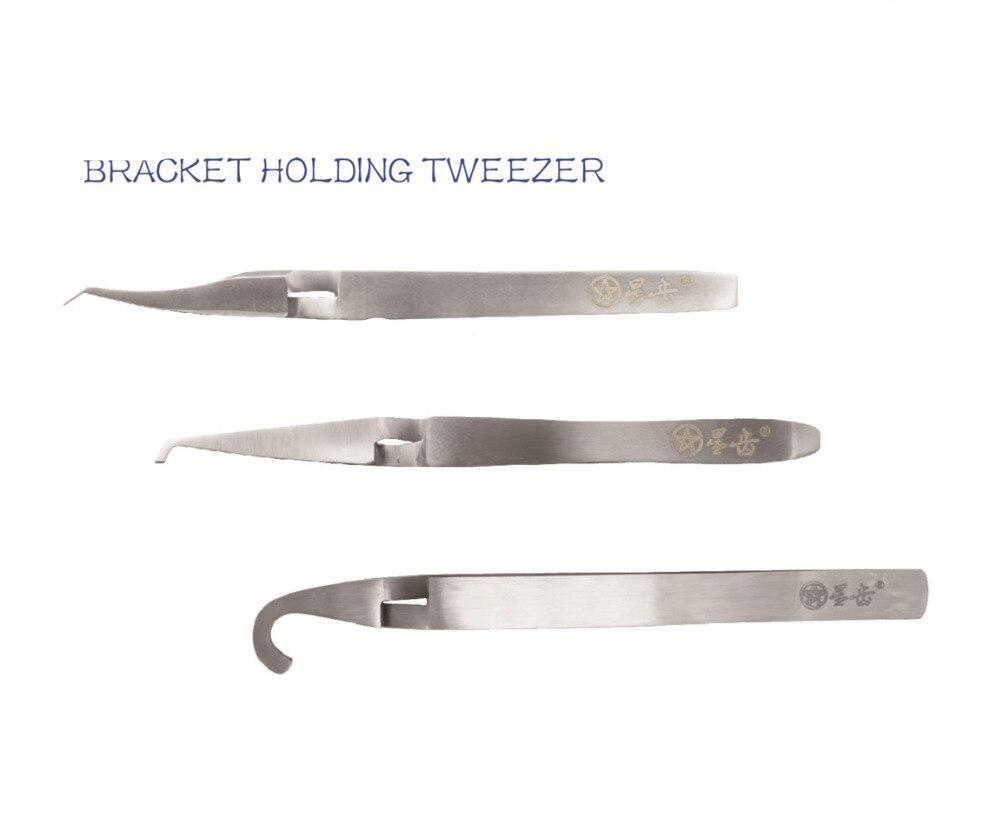 bracket holding tweezer kit,Non Coated.bracket holding tweezer kit,Non Coated.