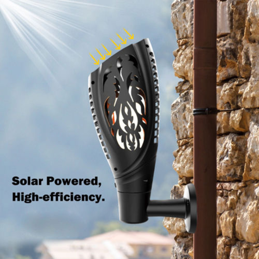 3 Mode Switching Solar LED Light Torch Flame Fire Road Light Creative Street Lights Flickering Atmosphere Decorative Lamp