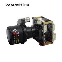 Cámara ip 1080 p cámaras ip ptz zoom motorizado IMX185 Luz de Las Estrellas cámara de vigilancia de vídeo de seguridad con wi-fi audio puerto RS485