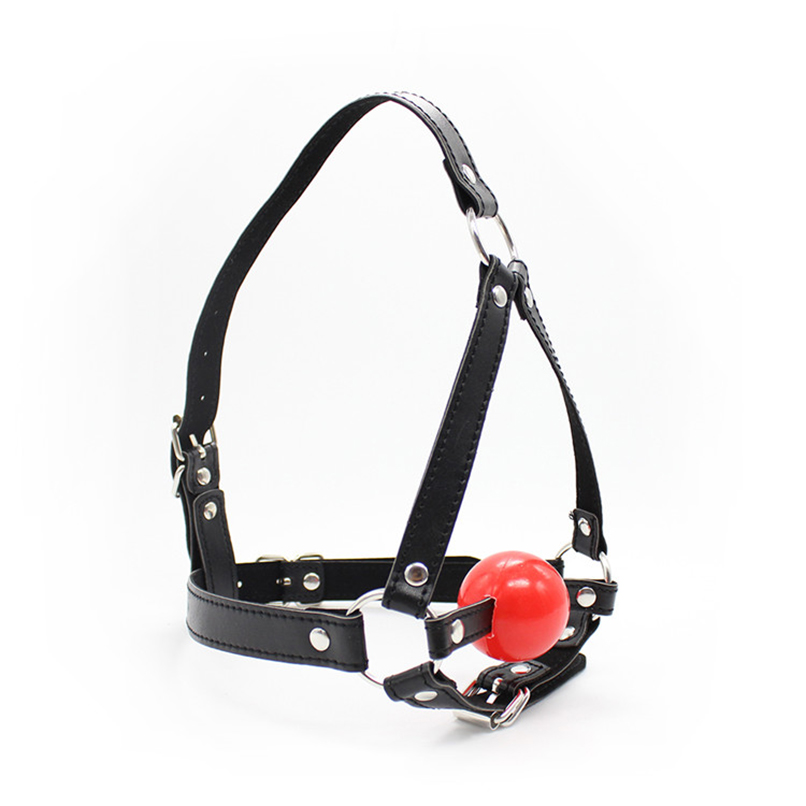 Buy Open Mouth Gag Head Harness Mask Fetish Restraint Bondage Adult Game Couples Flirting Sex Products Toy Couples Women