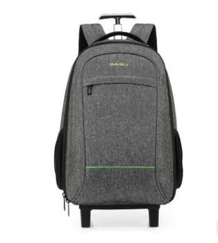 9cc0e485723a8 Seyahat sırt çantası tekerlekli sırt çantası Için Erkekler Kabin tekerlekler  Iş taşımak ile çekçekli valiz Haddeleme bagaj bavul