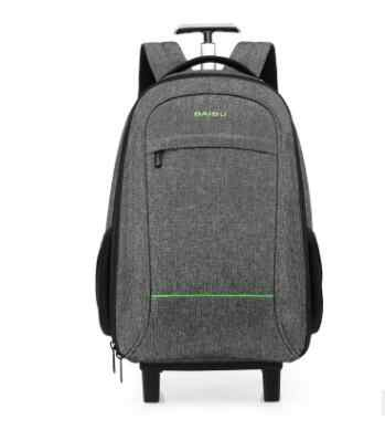 503f74d6e237 Travel Rucksack Bag wheeled backpack For Men Cabin Luggage Trolley bags  with wheels Business carry on