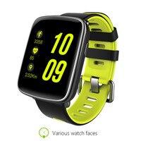 Sıcak GV68 Saatler Android Wearables İzle IP68 Destek Kalp Hızı Monitörü IOS Android Için Spor Izci Anti-kayıp Bluetooth NFC