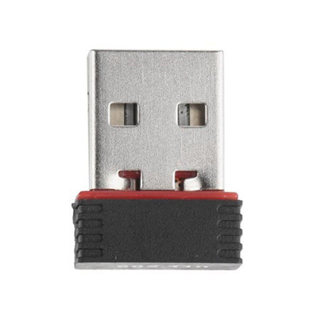 150Mbps de alta velocidad USB Nano inalámbrico Wifi adaptador Dongle receptor red LAN Tarjeta de ordenador para Windows para