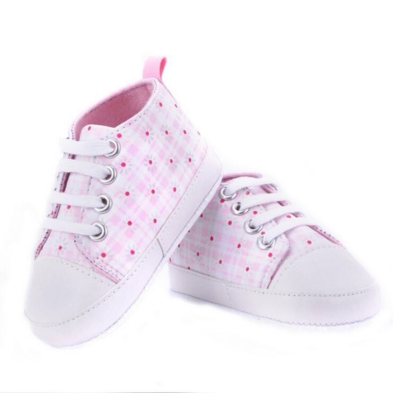 0-18M 9 Styles nouveau-né bébé filles garçons automne toile premiers marcheurs chaussures doux décontracté Prewalkers décontracté infantile bambin chaussures 5