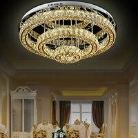 Современный потолочный светильник роскошный кристалл лампы люстры для холле отеля современная мода потолочный Люстра для дома холле отеля