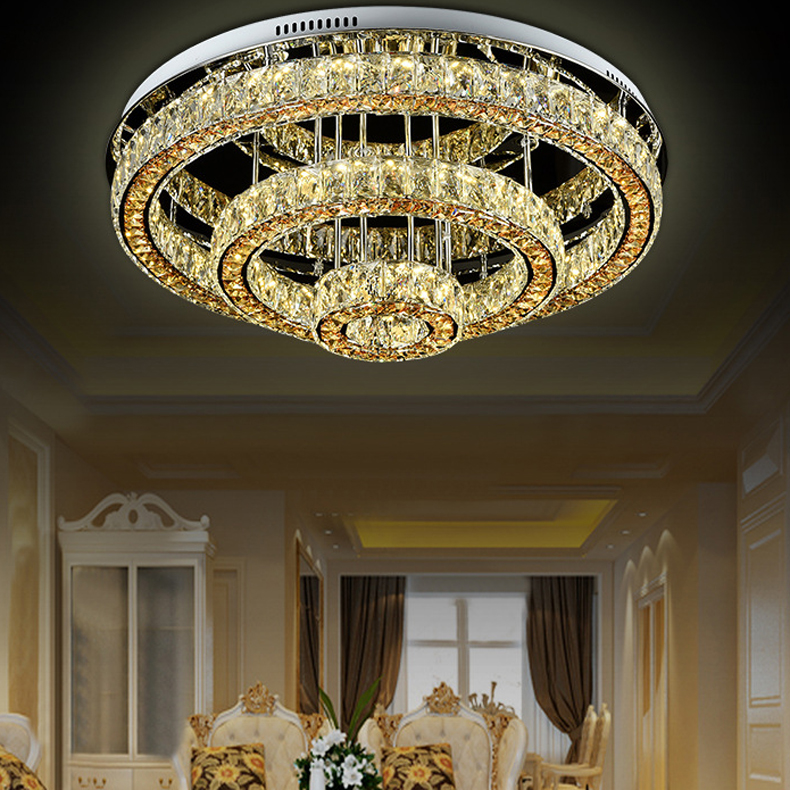 modern ceiling lamp Luxury crystal lamp chandelier for hotel hall modern fashion ceiling chandelier for home hotel hall best price jh modern crystal chandelier fixture duplex stairs led crystal lamp for ceiling villa hall chandelier droplight