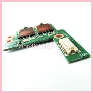 Image 5 - Para Asus ROG G750 G750JX G750JH G750JM G750J G750JW G750JS G750JZ DC Power Jack Soquete da Placa do Interruptor de Botão