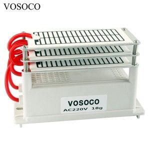Image 2 - 18 g/h מחולל אוזון נייד 110V 220V Ozonizer אוויר מים מטהר מעקר טיפול אוזון כדי פורמלדהיד הדחה