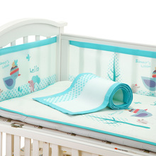 Baby Bed Bumper Breathable Mesh Crib Bumpers Baby Bedding Layer Cradle Liner Crib Netting Protector