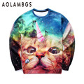 3D sweatshirts hoodies men women animal 3d printing cat/lion/tiger funny cartoon sweatshirt sportswear tops clothing pullovers