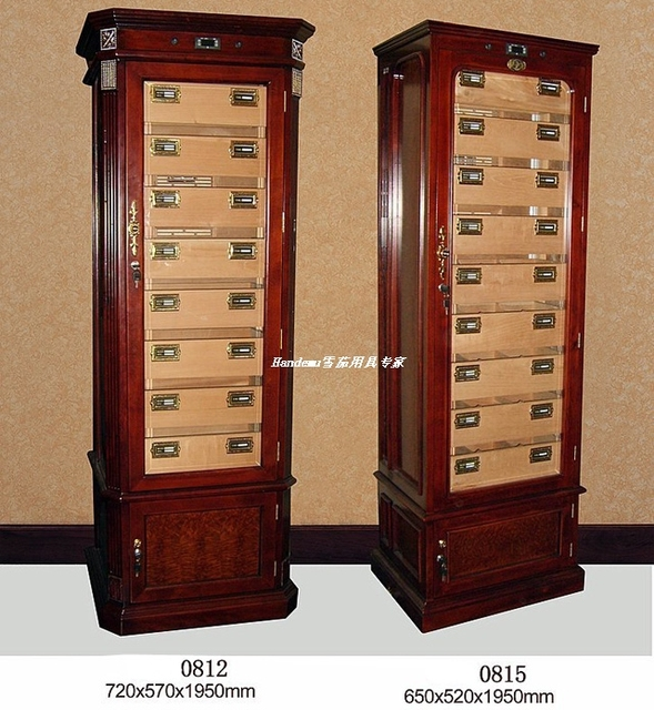 Wine Cooler Furniture Cigar Cabinet Humidor Constant Humidity Electronic
