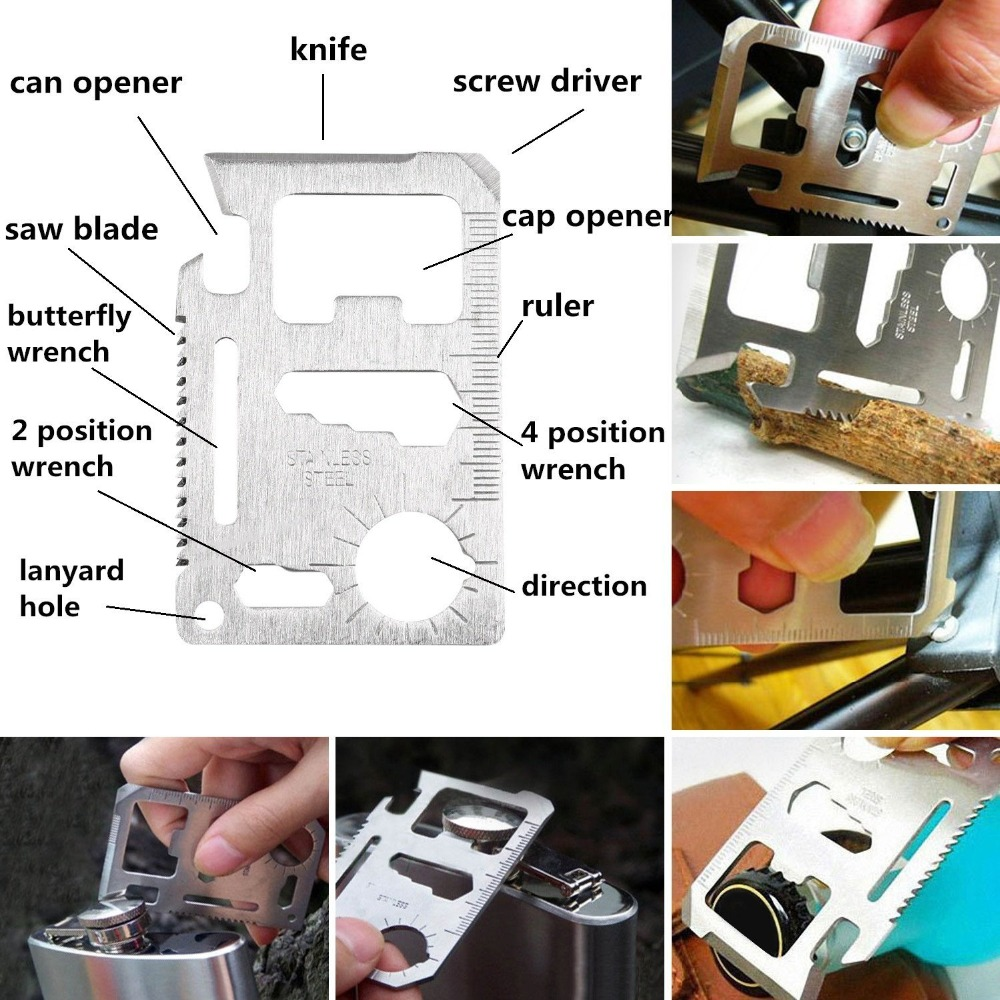 ar livre mini ferramentas acampamento kit ajuda