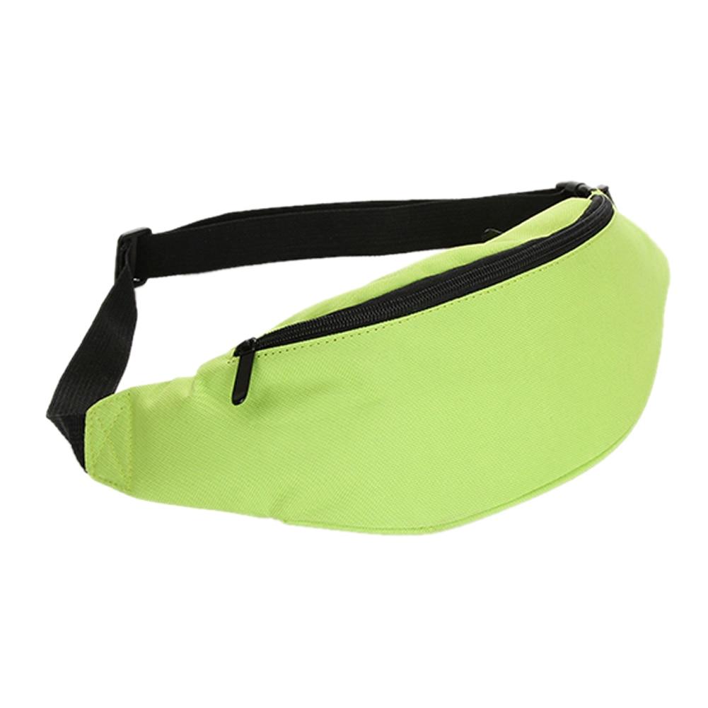 Bag Fanny Pack Hip Waist Festival Money Pouch Belt Wallet Travel Bag Holiday Kids Green