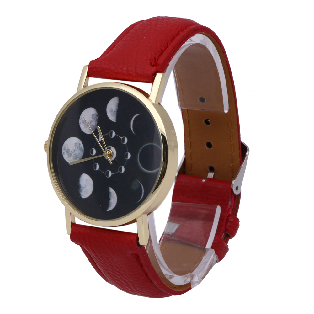 2019 New Brand Solar Watch Women Eclipse Phenomenon horloge Fashion - Dameshorloges - Foto 4