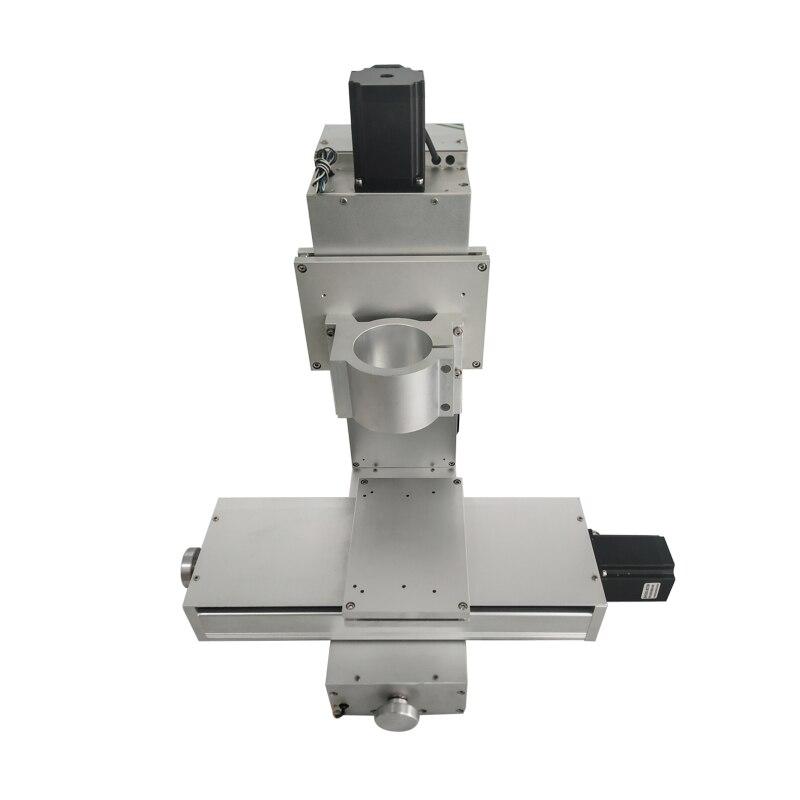 Bricolage mini CNC 1525 routeur kit cadre en aluminium lit roulement kit machine CNC
