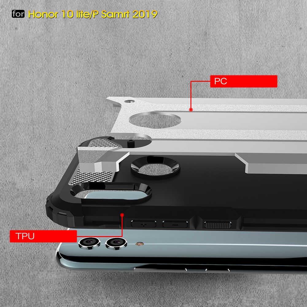 جراب كوكيه 6.21For Huawei P Smart 2019 حافظة لهاتف هواوي P Smart 2019 2020 Honor 10 Lite جراب خلفي