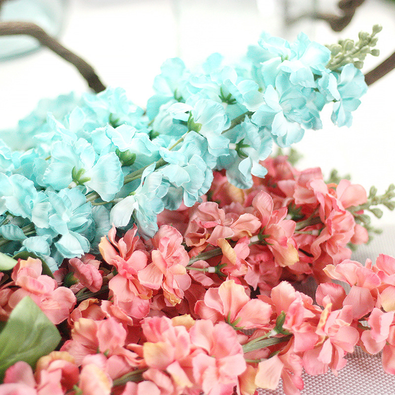 2pcslot eternal charm delphinium artificial fake silk flower violet 2pcslot eternal charm delphinium artificial fake silk flower violet home garden party wedding decoration real touch plant in artificial dried flowers mightylinksfo