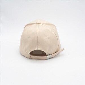 Image 3 - Kpop コンサート同じ綿キャップ LY 刺繍トップ品質弾性キャップファッションヒップポップ帽子
